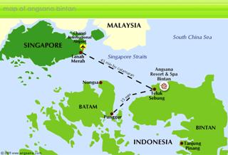 Map Bintan